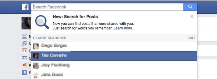 Usa Facebook em inglês? Saiba como buscar pelos posts antigos na rede social (Foto: Reprodução/Melissa Cruz)