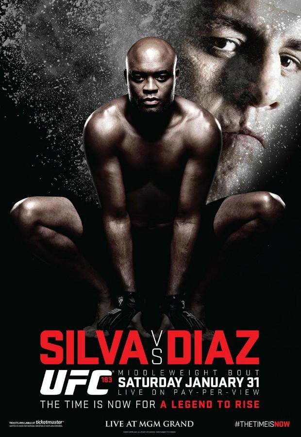 Pôster Anderson Silva (Foto: Reprodução / Twitter)