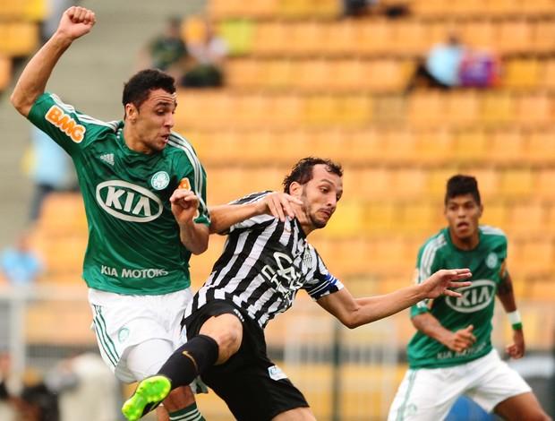 Caio Edu Dracena Palmeiras Santos (Foto: Marcos Ribolli)