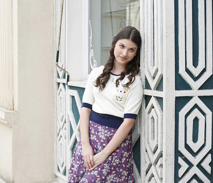 Giovanna como a Gerusa da nova novela das 6 (Foto: Ellen Soares/Gshow)