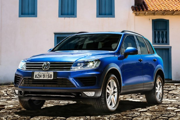 Volkswagen Touareg V6 2015 (Foto: Divulgação)
