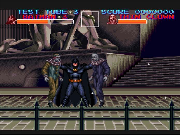 Batman Returns era baseado no filme de mesmo nome (Foto: Reprodução/Old Gaming Fever)