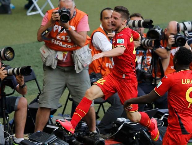 Mertens Bélgica x Argélia (Foto: Reuters)