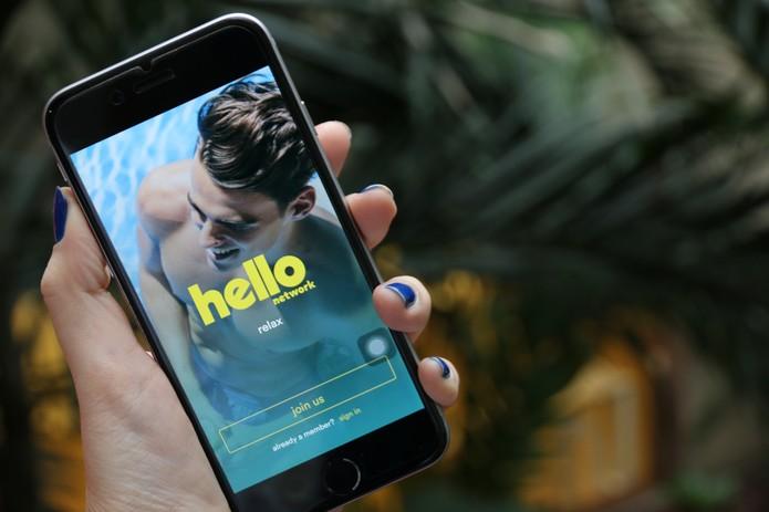 Hello aplicativo (Foto: Anna Kellen Bull/ TechTudo)