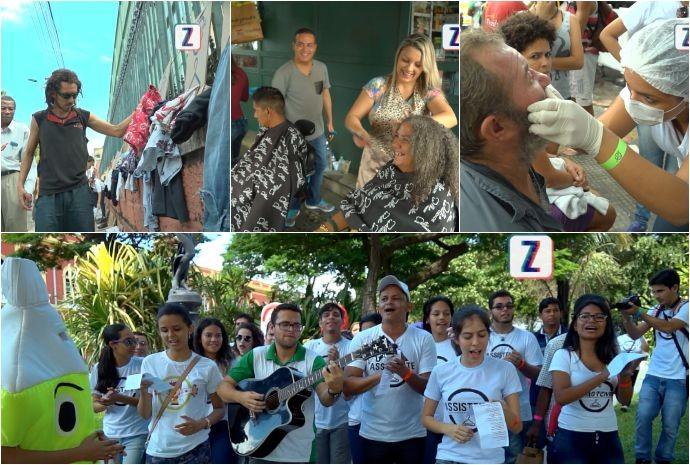 Projeto The Street Store é realizado pela primeira vez, em Manaus (Foto: Zappeando)