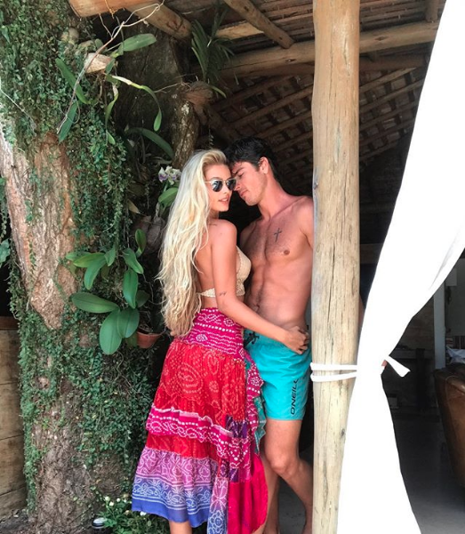 Yasmin Brunet e Evandro Soldati (Foto: Reprodução/Instagram)