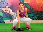 Maria Melilo mostra seu treino funcional para o EGO