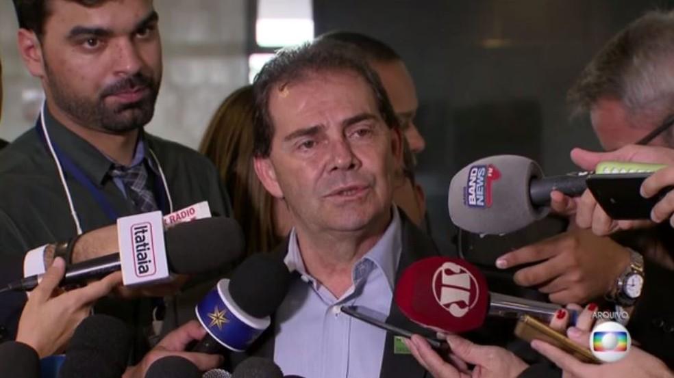 O presidente do Solidariedade, deputado federal Paulinho da Força (Foto: TV Globo)