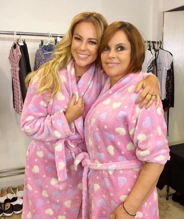 Paolla Oliveira e a mãe (Foto: Reprodução / Instagram)