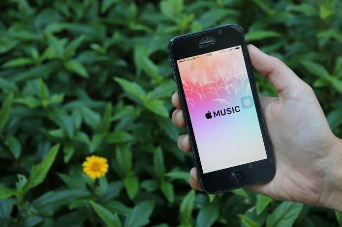 Além do iPhone, Apple Music também funcionará em smartphones Android (Foto: Maria Clara Pestre/TechTudo) (Foto: Além do iPhone, Apple Music também funcionará em smartphones Android (Foto: Maria Clara Pestre/TechTudo))
