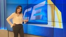 Cintia Lima se despede e deixa recado especial (Wiglêr Torres / TV Verdes Mares)