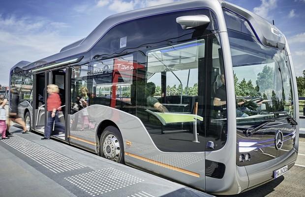Future Bus da Mercedes-Benz (Foto: Divulgação)