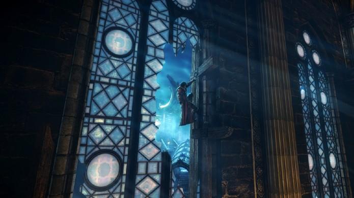 Escaladas são uma grande parte da aventura em Lords of Shadow 2 (Foto: xboxoz360.wordpress.com)