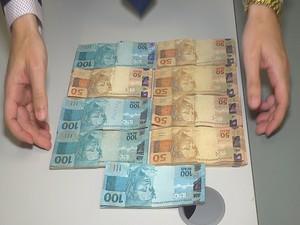 Suspeito ofereceu R$ 9 mil para não ser preso (Foto: Reprodução/TV Verdes Mares)