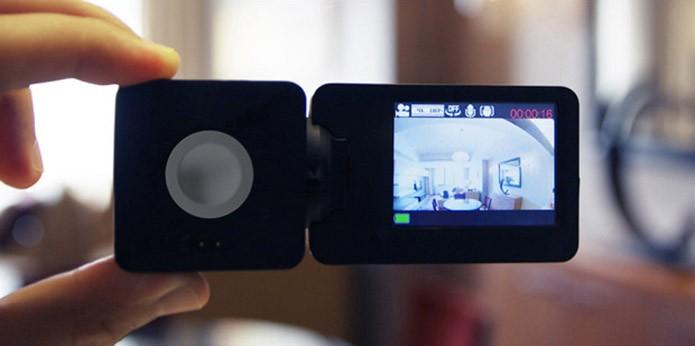 Câmera mede somente 45 mm de lado (Foto: Divulgação)