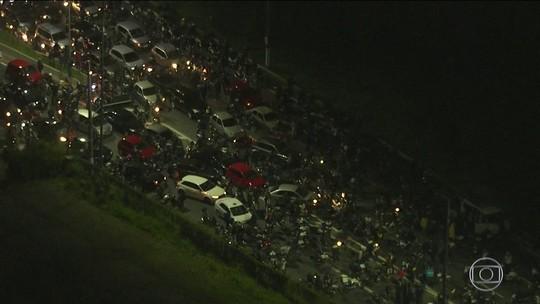 Globo iniciou cobertura sobre as paralisações na madrugada