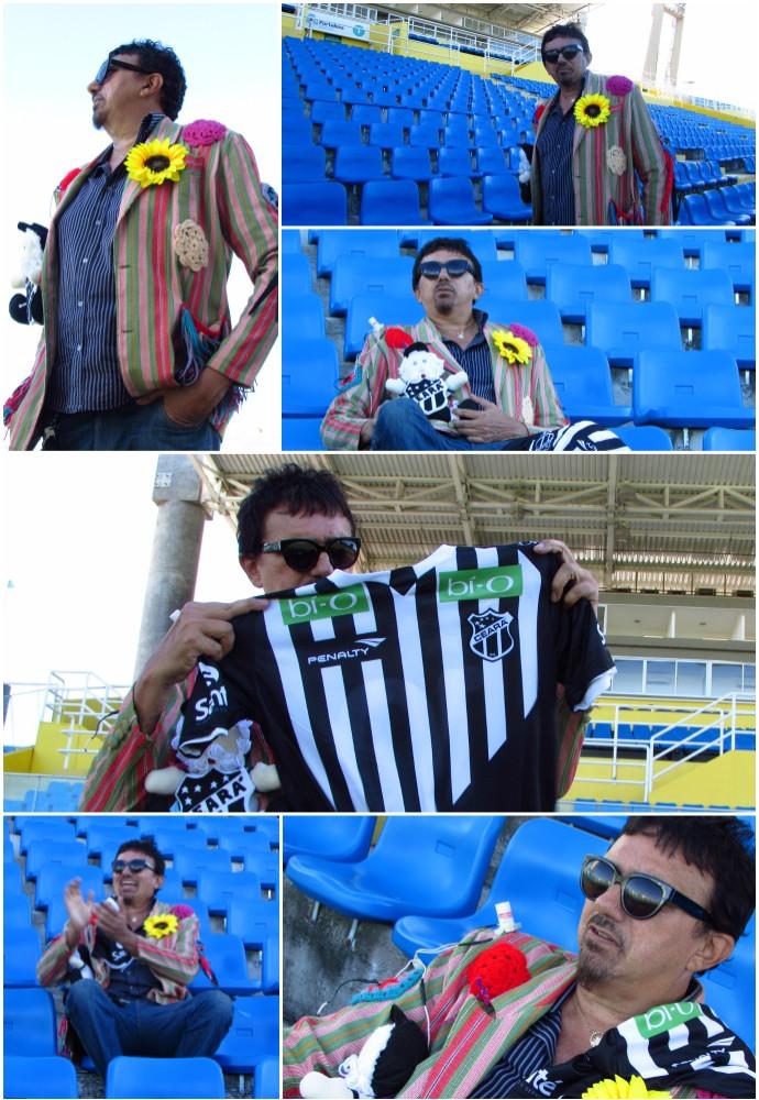 Falcão, Meu Jogo Inesquecível, Ceará, Centenário (Foto: Juscelino Filho)