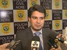 Acre registra mais de 300 homicídios; 'ano mais violento', diz secretário