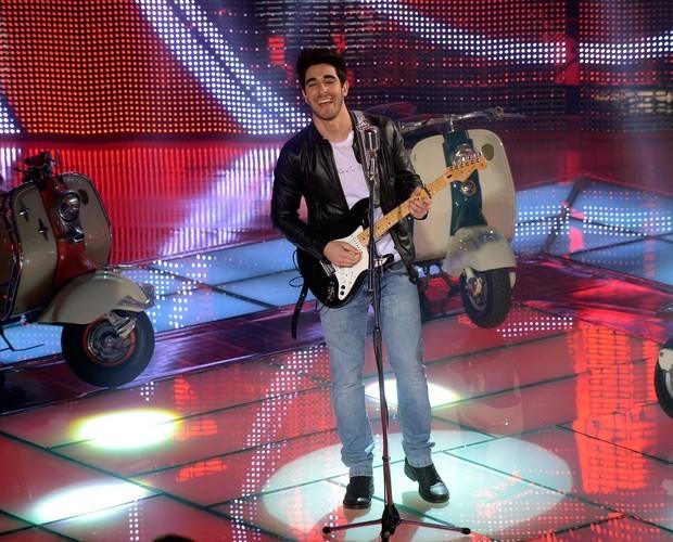 Gustavo Fagundes faz show neste sábado em Madureira  (Foto: Rede Globo/The Voice)