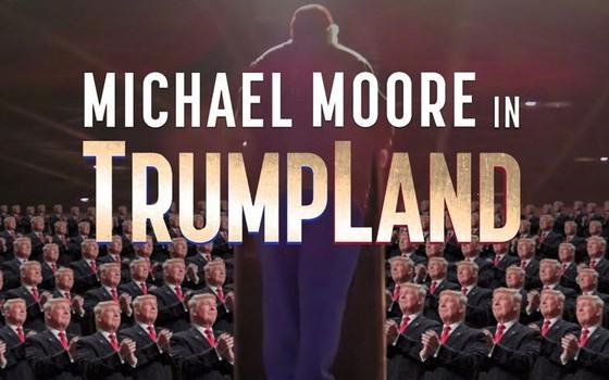 Cartaz do novo documentário de Michael Moore, que propõe uma investigação sobre o estado de Ohio e os republicanos (Foto: Reprodução)