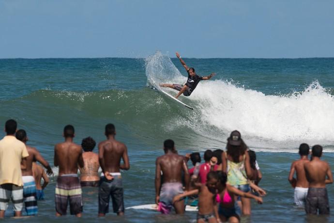 Bino Lopes em ação no QS 1500 da Praia do Forte (Foto: Luca Castro / Divulgação)