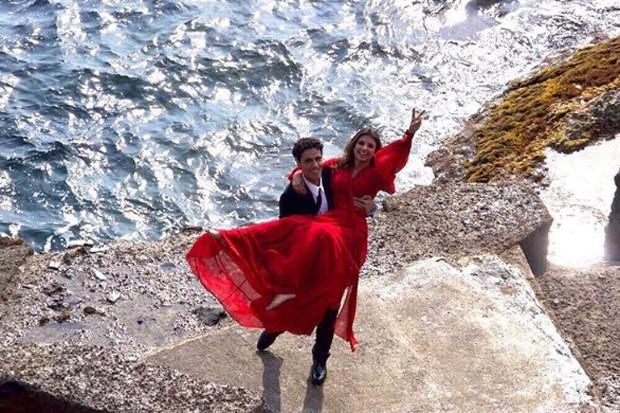 Thiago Arancam e Paula Fernandes (Foto: Reprodução/Instagram)