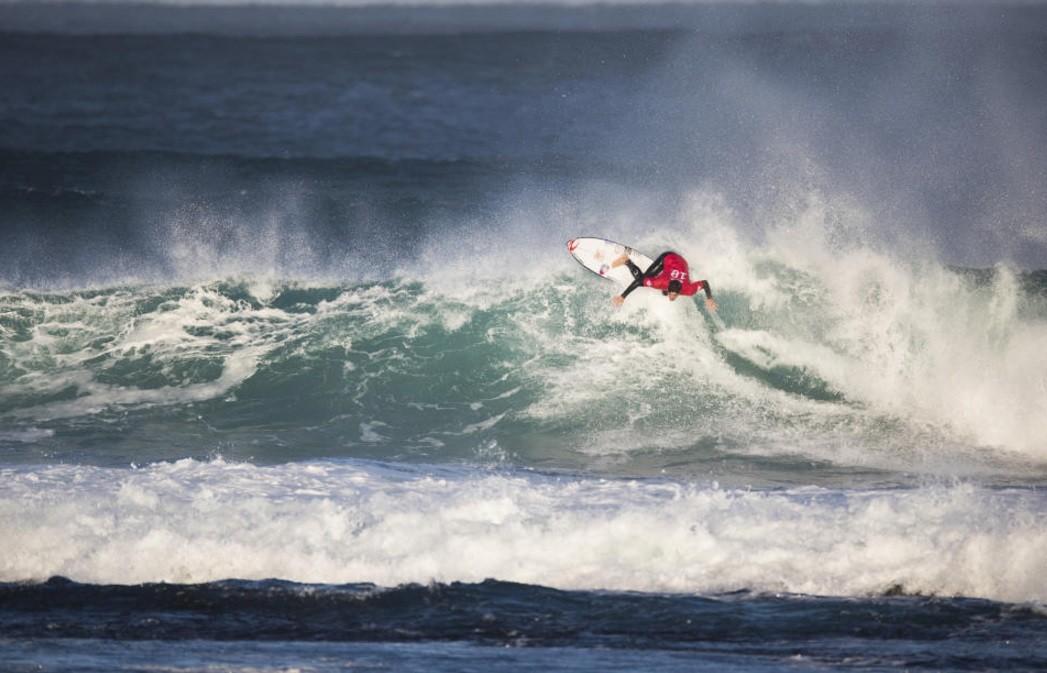 Gabriel Medina no conseguiu surfar bem em Margaret River e foi eliminado no Round 2 (Foto: Matt Dunbar/WSL)