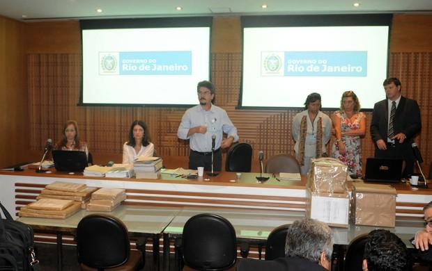 Processo licitação maracanã  (Foto: André Durão / Globoesporte.com)