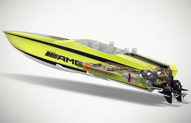 Cigarette AMG Electric Drive Concept (Foto: Divulgação)