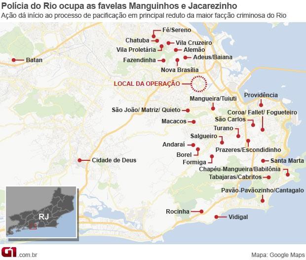 A cidade do Rio já tem 28 Unidades de Polícia Pacificadora (Foto: Arte/G1)