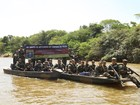 'Curare VII' termina com destruição de 18 balsas de garimpo ilegal em RR