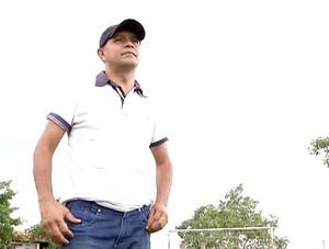 Primeiro técnico de Marlone (Foto: Reprodução/TV Anhanguera)