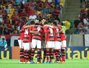 Time do Flamengo contra Goias (Foto: Alexandre Vidal / Fla Imagem)