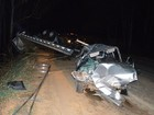 Mulher morre e bebê permanece em estado grave após acidente na BR-354