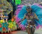 Veja fotos do desfile da  Vila Isabel (Alexandre Durão/G1)
