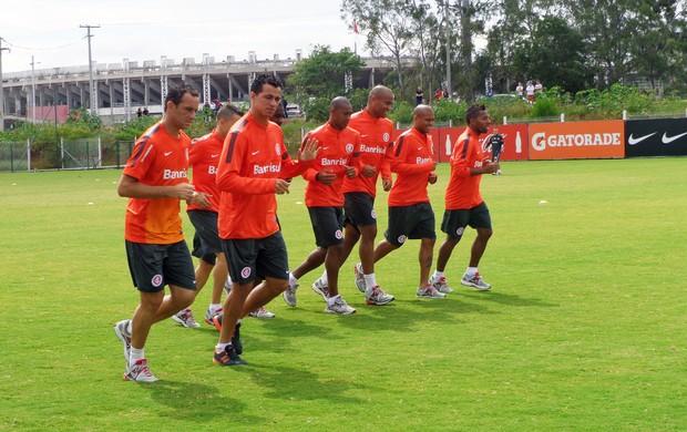 inter treino titulares damião (Foto: Tomás Hammes/Globoesporte.com)