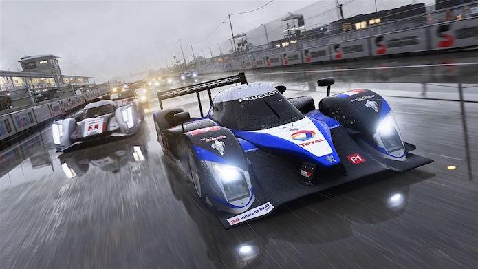 Forza 6 vai exigir muita habilidade no volante em ambientes chuvosos (Foto: Divulgação/Microsoft)