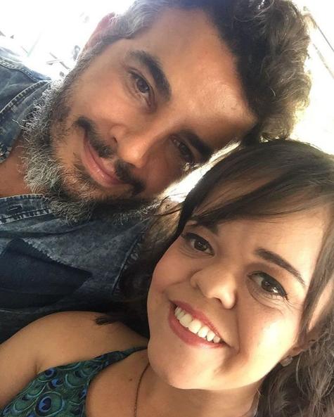Anderson Di Rizzi com Juliana Caldas (Foto: Reprodução Internet)
