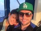 Preta Gil e Rodrigo Godoy curtem passeio romântico em lua de mel