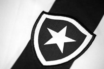 Detalhe da nova camiseta do Botafogo, que será apresentada em 21 de agosto (Foto: Divulgação)