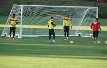 Vitória inicia preparação para jogo contra o Coritiba, pela Sul-Americana