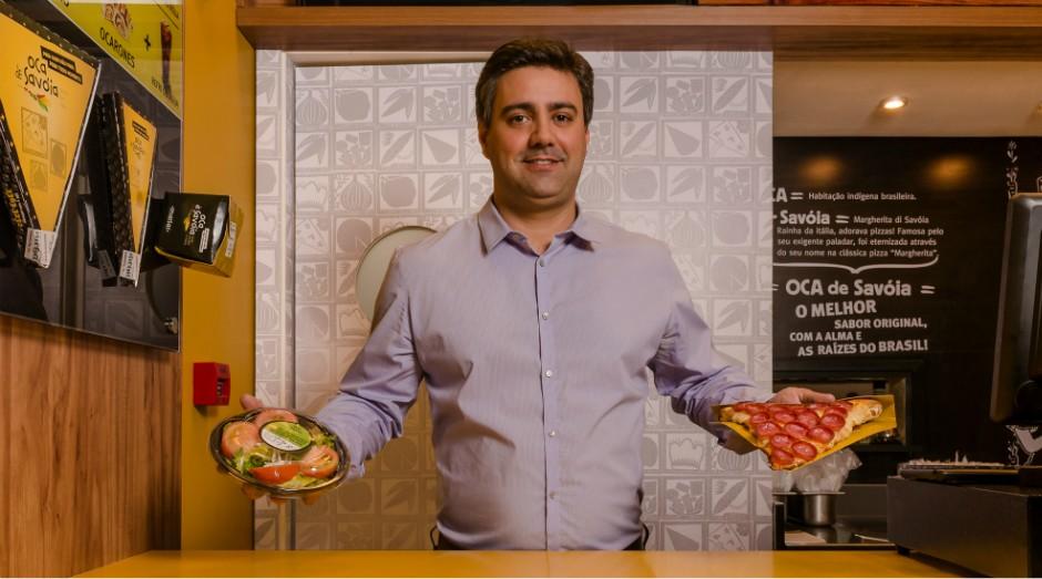 Fábio Xavier faturou R$ 10 milhões em 2016 com suas pizzas em fatia  (Foto: Divulgação)