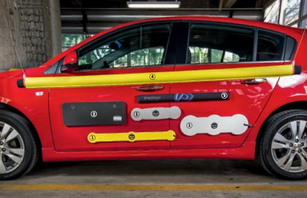 Testamos e escolhemos o melhor protetor de porta para seu carro (Foto: Marcos Camargo/ Autoesporte)