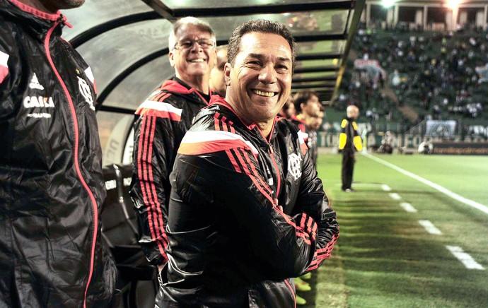 Vanderlei Luxemburgo, Palmeiras X Flamengo (Foto: Marcos Ribolli)