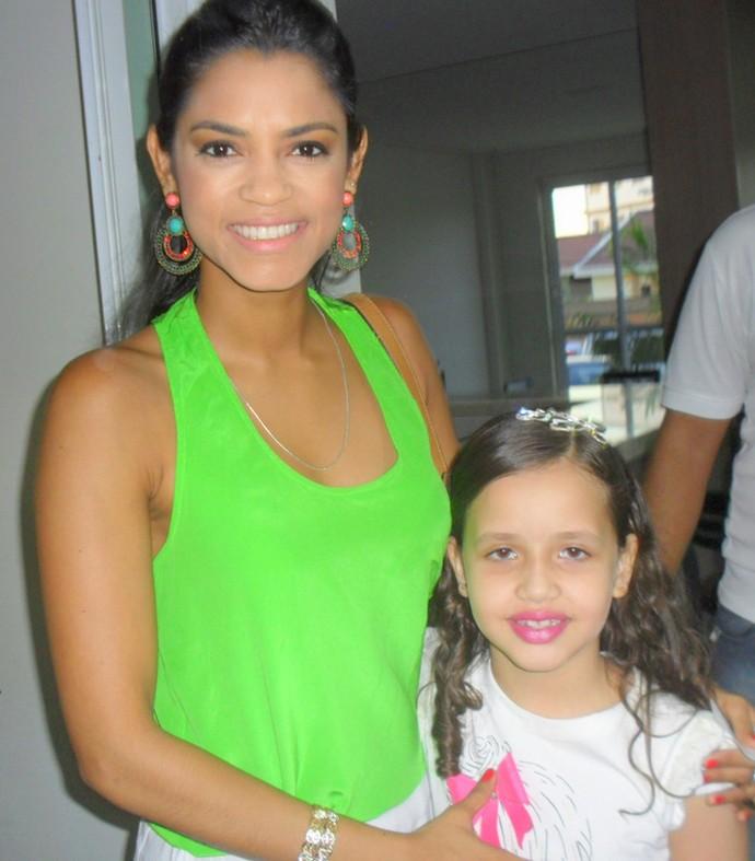 Lucy Alves e Laís Amaro (Foto: Arquivo Pessoal)