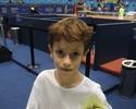Fã mirim de 7 anos invade a quadra do Brasil Open e surpreende tenistas