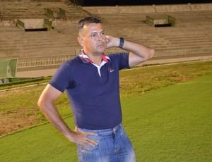 Jazon Vieira, técnico do Auto Esporte (Foto: Amauri Aquino / GloboEsporte.com/pb)