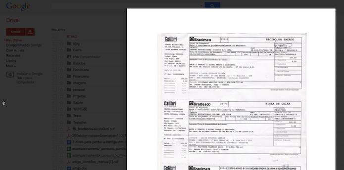 Visualizando um documento usando atalho de teclado (Foto: Reprodução/Edivaldo Brito)