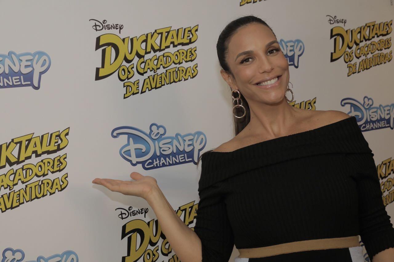 Ivete Sangalo cantará a música de abertura da nova versão de DuckTales (Foto: Divulgação)