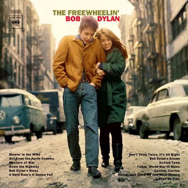 Bob Dylan e a então namorada Suze Rotolo (Foto: Reprodução)